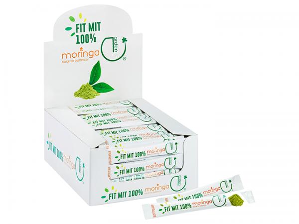 Moringa Blattpulver 1 g Sticks-10 Stück