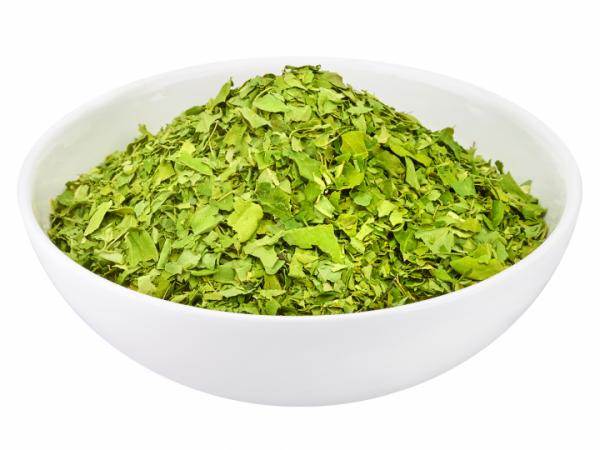 Feinster Moringa Bio Blattschnitt 100 g