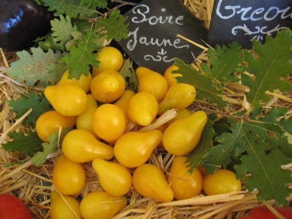 Poire Jaune (Gelbe Birne) Gelbe Kirschtomate