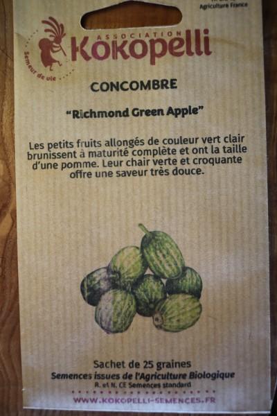 Richmond Green Apple, Gurke