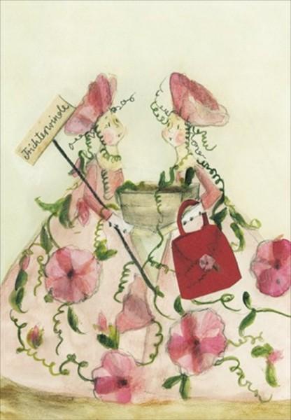 Blumensamenkarte Trichterwinde