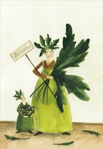 Kräutersamenkarte Rucola